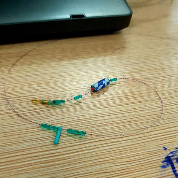 Hạt chặn silicon làm dây trục